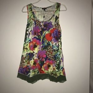 Cupio Floral Swing Top  NWT Large